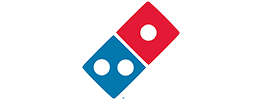 cleanerbins commercial bin cleaning client Dominos UK based in milton keynes
