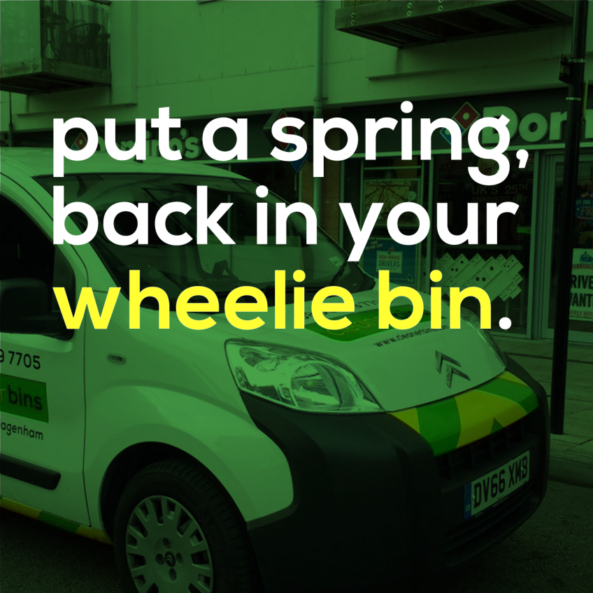 Put a spring in your bin(s)!