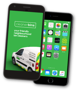 milton keynes and south northants bin cleaning app design preview